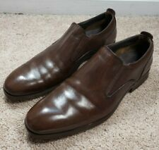 COLE HAAN (C.13128)-Brown Leather, Mens Casual/Dress Comfort Loafers-(9.M)