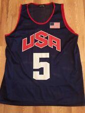 Rare Kevin Durant Jersey Shelor USA Dream Team Oympic Basketball Replica sz L