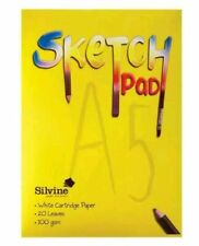 Silvine Kids Sketch Pad by Silvine a5/a4 bookbound choose yours FREE POST