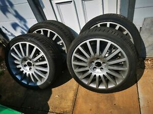 """Ford Mondeo 18"""" ST220 Alloy Wheels and Centre caps"""