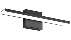 Bathroom Vanity Light Fixtures Aluminum LED Wall Lights for Bedroom Matte Black