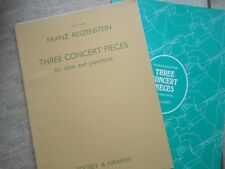 Three Concert Pieces for Oboe & piano by Reizenstein *NEW*  Boosey & Hawkes