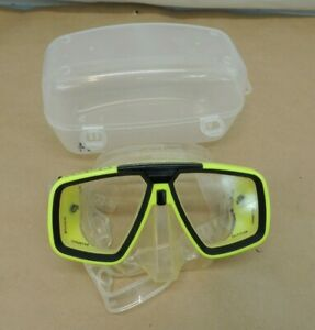 LOOK U.S. DIVERS SWIMMING SCUBA SNORKEL GOGGLES with CASE
