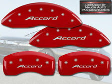 "2016-2017 Honda ""Accord"" Sport Touring Front + Rear Red MGP Brake Caliper Covers"