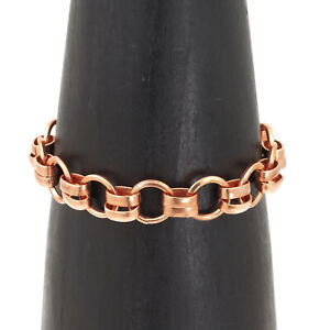 Hand Made Healing Copper Chain Bracelet Jewelry Taxco Mexico