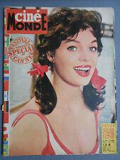 ►CINE MONDE 1395/1961-RENATE EWERT-JOYCE TAYLOR-BRIGITTE BARDOT-GARY COOPER...