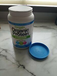Orgain Organic Protein & Greens Powder Vanilla Bean 1.94 LBS. - NEW - FREE S&H!