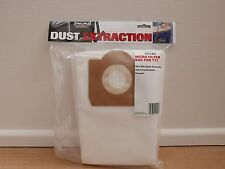 PACK OF 5 MICRO FILTER BAGS FOR TREND T31 VACUUM DUST EXTRACTOR T31/1/A/5