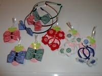 SCHOOL SUMMER HAIR ACCESSORIES HAIR BOWS  CLIPS ALICE BAND HEADBAND BOBBLES