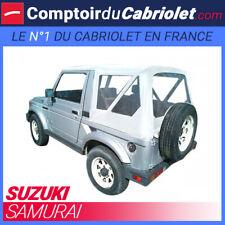 Capote blanche pour Suzuki Samurai SJ410/SJ413 cabriolet