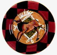 Zrike OUTPOST Reindeer Dinner Plate 4559701