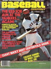 1979 (April) Baseball Quarterly magazine, Jim Rice, Boston Red Sox ~ VG
