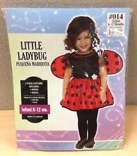 Little Ladybug Lady Bug Halloween Costume Infant 6-12 Months New