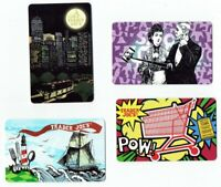 TRADER JOES Gift Card - LOT of 4 - Grocery - Selfie, Ship - Collectible No Value