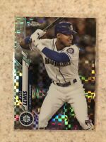 2020 Topps Chrome KYLE LEWIS RC X-Fractor Refractor Rookie #186 Mariners ROY!