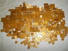 Lego Bulk lot Gold Tile Grille Mini Slope 243pcs