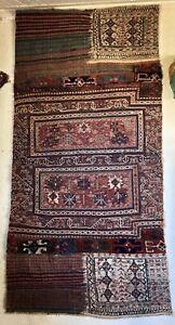 Perser Teppich BACHTIAR - LURI Sumakh Kelim Tasche 189x95 antik um 1900 Sammler