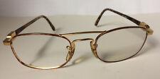 BAUSCH&LOMB Ray-Ban Brillengestell Brille Braun/Gold eyeglasses Fassung Vintage