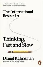 Thinking, Fast and Slow by Daniel Kahneman 9780141033570 (Paperback, 2012)