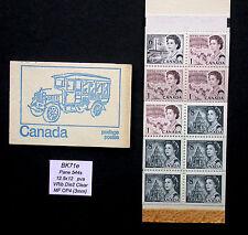 BK71e ~ Pane 544 s ~ Canada Centennial Booklet Stamps BK71 e