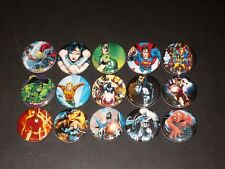 Super Heroes Buttons/ Pins 15 set B