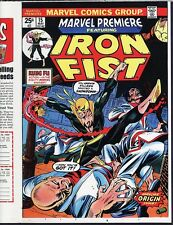 Marvel Premiere 15 COVER PROOF 1st IRON FIST 1974 Gil Kane PRODUCTION ART Origin