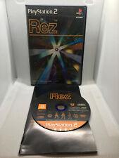 Rez - NTSJ Japan Import - Complete CIB - Playstation 2 PS2