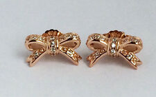 GENUINE PANDORA Rose Sparkling Bow Stud Earrings 280555CZ FREE DELIVERY