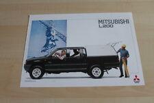 109954) Mitsubishi L200 Hard Top Prospekt 09/1993