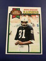 1979 Topps # 28 MORRIS BRADSHAW Oakland Raiders NM Nice Card Look !