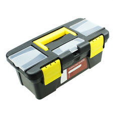 "10"" Plastic Carry Hardware Tool Kit Box Portable Parts Storage Case Organizer"