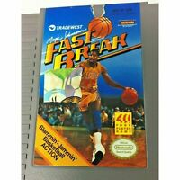 Magic Johnson's Fast Break Nintendo Entertainment System NES Game Tested Works