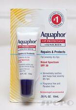 Eucerin Aquaphor Lip Repair and Protect Broad Spectrum SPF 30 .35 Fl.oz. 10ml