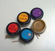 4x Handmade Levander Coconut Orange Cherry Sugar Lip Scrubs  Exfoliator 8g each