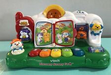 Vtech DISCOVERY NURSERY FARM Electronic Interactive Learning Toy Rhymes 2004