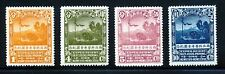 China  307-10 1932 Sven Hedin Northwest Scientific Expedition set, VF appearance