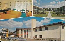 Postcard Illinois Rosemont Concord Motel Chrome Unposted Retro Americana