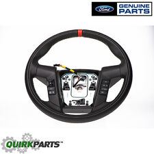 2011-2014 Ford F-150 SVT Raptor Black Leather Steering Wheel OEM BL3Z3600CB