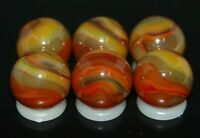 SIX PACK Jabo Classic Marbles Collector Set Hard To Find Marbles 951 KEEPERS