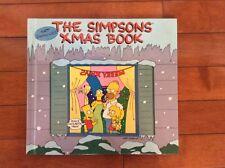 The Simpsons Xmas Book First Edition Hardcover Matt Groening