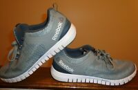 Reebok Memorytech Massage Zrated Athletic Men's Shoes Gray Color Size 11.5