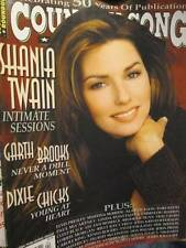 Country Song Roundup April 2000 Magazine-Shania Twain/Alan Jackson Poster/Kris K