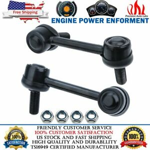 2 Front Sway Bar End Links For 2004 2005 2006 2007 Chevy Trailblazer GMC Envoy