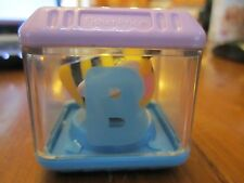 Fisher Price Peek a Blocks Letter alphabet B replacement Block Bumble Bee Toy