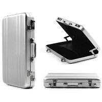 Aluminum Metal Brifcase Business ID Credit Card Case Box Wallet Holder Pocket