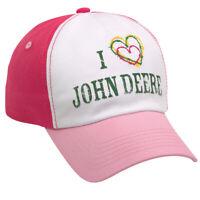 NEW John Deere Toddler Pink Horse Winter Fleece Lined Flap Stocking Cap LP68990