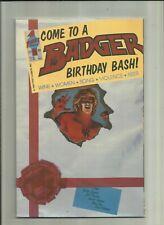 Badger . # 50  . (Vol 2) First Comics .