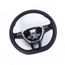 Black Multifunction Steering Wheel Heated Fit For VW Jetta Passat #5G0419091#