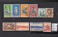 STAMPS LOT SWITZERLAND USED (L35709)