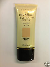 Revlon New Complexion Even Out Liquid Makeup Foundation ( NATURAL BEIGE ) New